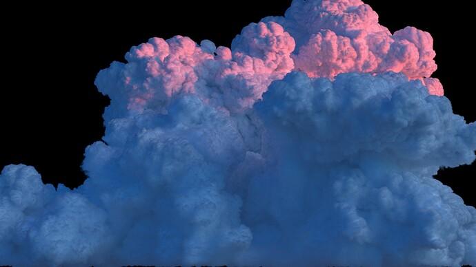 Cloud cumulonimbus 4 sunset