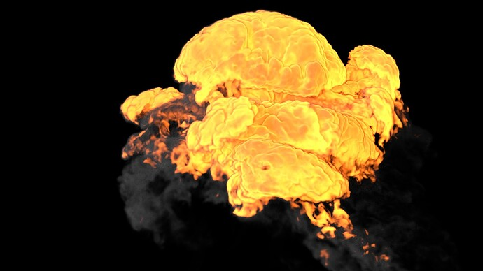 Explosion C_Voxel Size 1.5_Vorticity 16