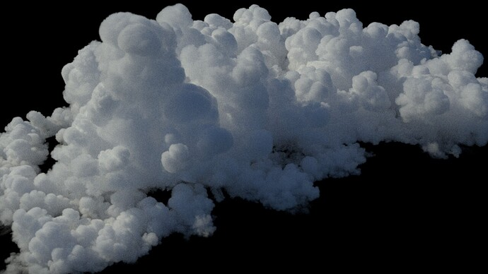 Cloud large cumulus 2 - 3dlc4d - 41min